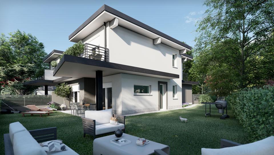 Villa Bifamiliare - Romano di Lombardia